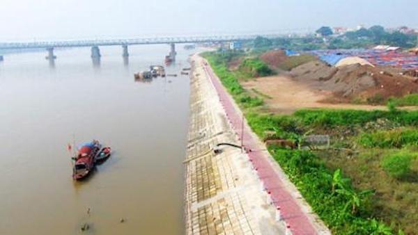 Hà Nội từng có ý tưởng đẩy đê ra sát bờ sông.