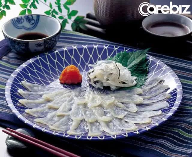 Cá nóc là một món ăn ngon của Nhật Bản nhưng có khả năng gây chết người nếu chất độc không được làm sạch trước khi sử dụng.