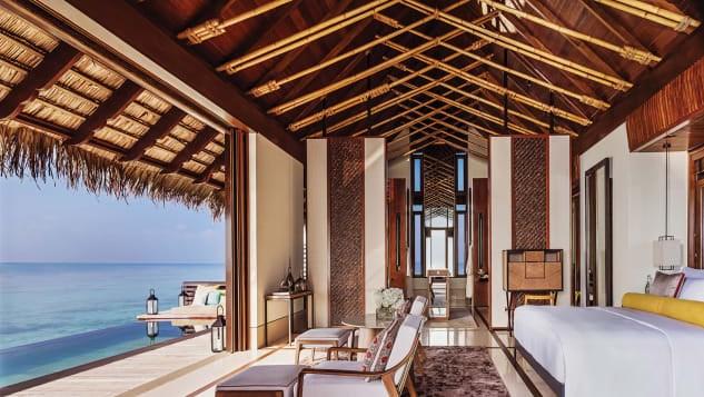 Khu nghỉ dưỡng One & Only Reethi Rah mở cửa gần như suốt năm 2020.