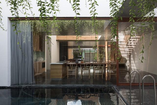 Ngôi nhà ở Huế định hình lại phong cách sống, rời xa sự ồn ào - Ảnh 1