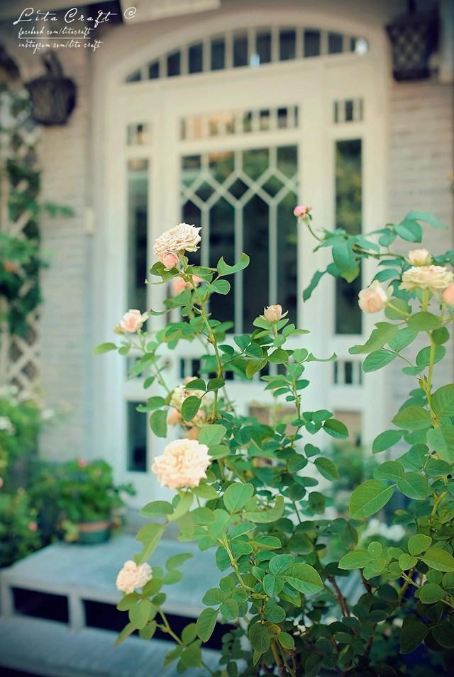 Ngôi nhà mộng mơ đẹp như phim ảnh của cặp vợ chồng trẻ Sài Gòn - Ảnh 12