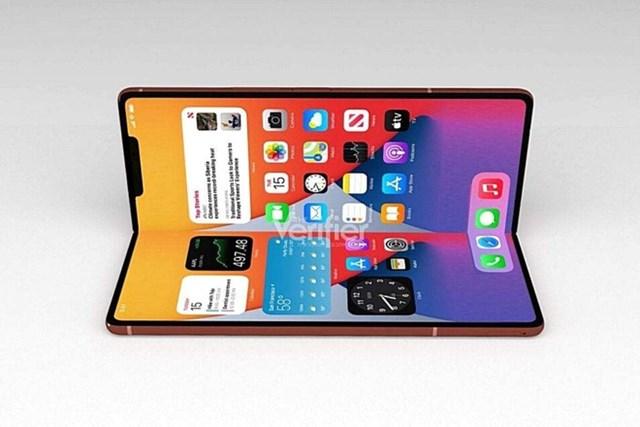 Trong tương lai gần, iPhone màn hình gập có thể sẽ thay thế iPad Mini. Ảnh:Verifier.