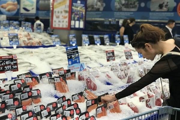 Cước vận chuyển tăng có thể góp phần làm tăng giá bán hàng thực phẩm nhập khẩu.