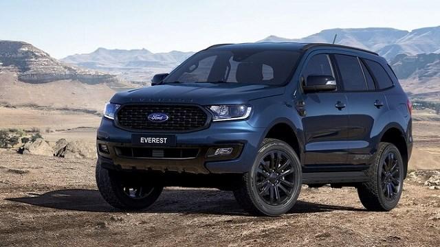 Ford Everest Sport. Ảnh:Ford