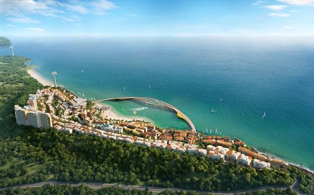 Sức nóng của phân khu The Center không ngừng gia tăng khi nằm tại vị trí trung tâm của thị trấn Địa Trung Hải.