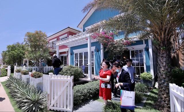 Biệt thự biển là một trong những sản phẩm second home nổi bật được nhiều nhà đầu tư ưa chuộng. Ảnh: Biệt thự mẫu Florida tại dự án NovaWorld Phan Thiet
