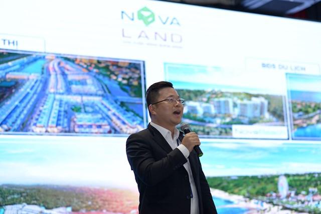 Ông Lâm Đại Dương - Giám đốc Kinh doanh Tập đoàn Novaland.