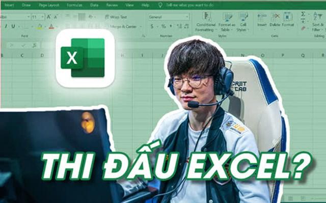 Giải đấu eSports dành cho các chuyên gia excel: Tuyển thủ phải giỏi cả kĩ năng máy tính đến khả năng tính toán thần tốc - Ảnh 1