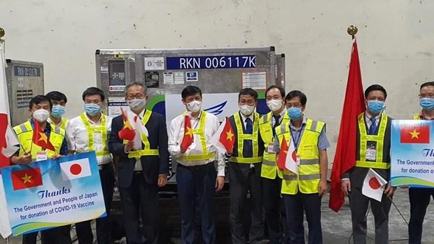 Bộ trưởng Bộ Y tế Nguyễn Thanh Long nhấn mạnh món quà quý giá này thể hiện mối quan hệ tốt đẹp của Chính phủ và Nhân dân Nhật Bản với Chính phủ và Nhân dân Việt Nam.
