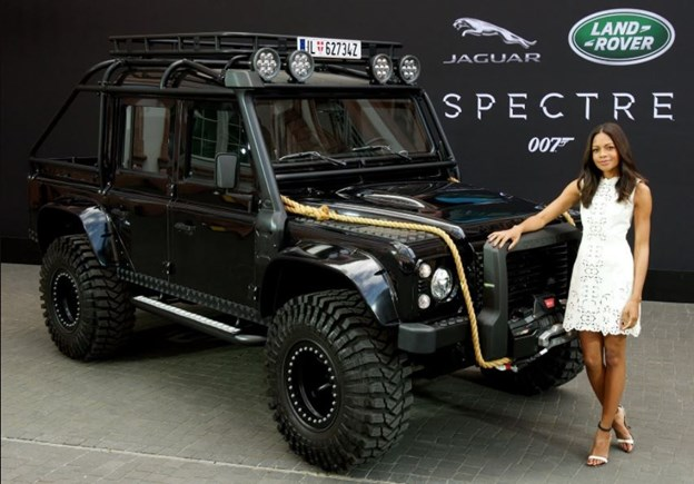 Chiếc xe xuất hiện trong Spectre (2015)