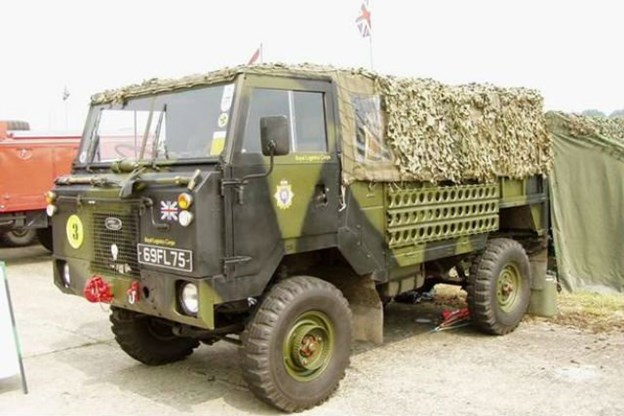 Chiếc Land Rover 101 Forward của Land Rover