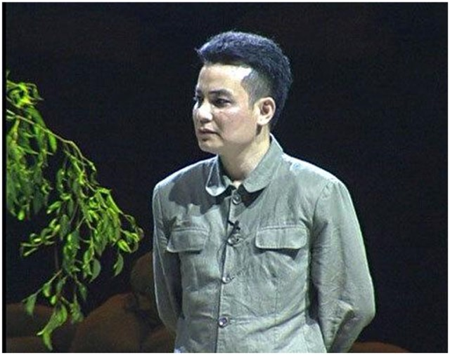 """Trịnh Mai Nguyên trong """"Đại tướng Võ Nguyên Giáp và bản giao hưởng Điện Biên""""."""