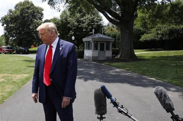 Tổng thống Mỹ Donald Trump. Ảnh: Bloomberg