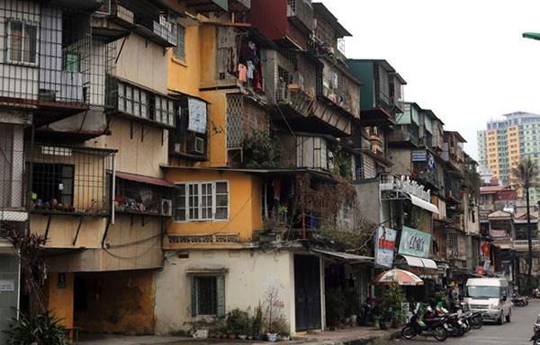 Chính phủ ban hành Nghị định mới về cải tạo, xây dựng lại nhà chung cư - Ảnh 1