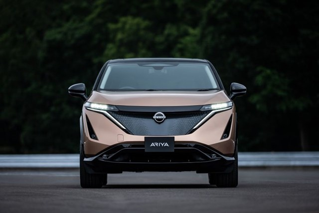 Ariya là xe điện thứ hai của Nissan có bán tại Mỹ, với kích thước nhỉnh hơn Leaf, và thiết kế hao hao mẫu SUV Murano.