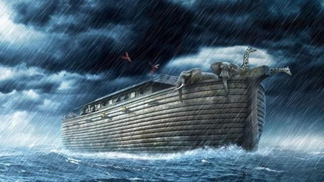 Con tàu Noah vượt đại hồng thủy trong quá khứ có nhiều người không tin là có thật.