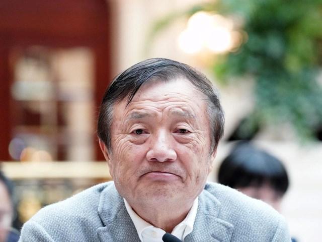 CEO Huawei Nhậm Chính Phi đối mặt với lựa chọn khó khăn. Ảnh:Getty Images.