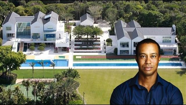 Ông đang dành thời gian để tập luyện tại căn biệt thự xa xỉ trị giá52,5 triệu USDnằm trên đảo Jupiter ở Florida.Ảnh:The Sun.