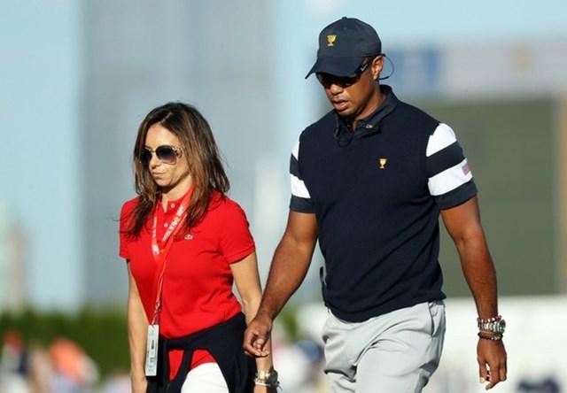 Căn biệt thự hoàn thành vào năm 2010, ngay sau khi Tiger Woods hoàn tất thủ tục ly hôn với cô vợ cũ, Elin Nordegren. Ông hoàng golf được cho đang ở đây cùng cô bạn gái Erica Herman - người tạo động lực để Tiger Woods đánh dấu sự trở lại đầy ấn tượng. Ảnh:Getty.