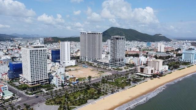 Một góc thành phố Bình Định. Nguồn: Internet
