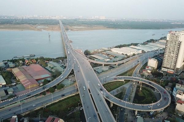Dự án xây dựng cầu Vĩnh Tuy giai đoạn 2