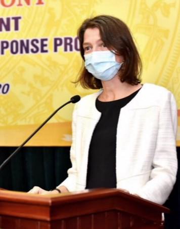Bà Stefanie Stallmeister, Quyền Giám đốc Quốc gia Ngân hàng Thế giới tại Việt Nam. Ảnh: SBV