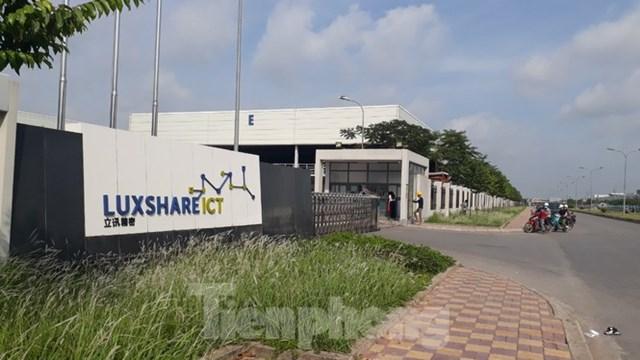 Tập đoàn Apple liên tục về khảo sát điều kiện sản xuất Iphone tại Công ty Luxshare – ICT ở tỉnh Bắc Giang