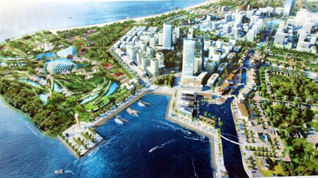 Phối cảnh dự án khu nghỉ dưỡng Nam Hội An. Nguồn: hoian.gov
