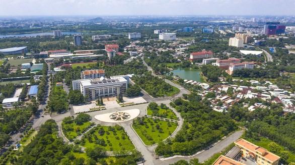 Đại học Quốc gia TP HCM, một trong những trọng tâm phát triển của thành phố mới Thủ Đức