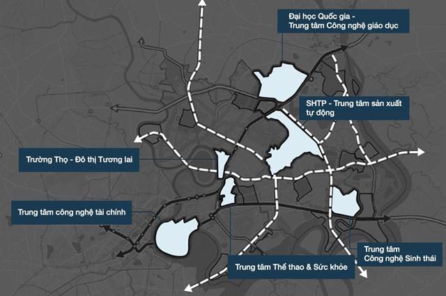 6 trọng điểm của thành phố mới Thủ Đức.
