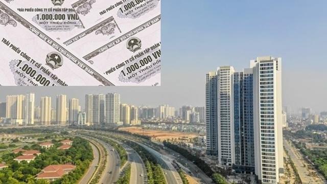 Doanh nghiệp bất động sản chạy đua huy động vốn. Ảnh minh hoạ