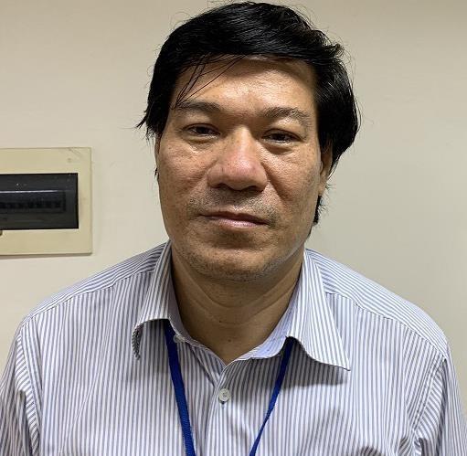 Bị can Nguyễn Nhật Cảm, cựu Giám đốc CDC Hà Nội