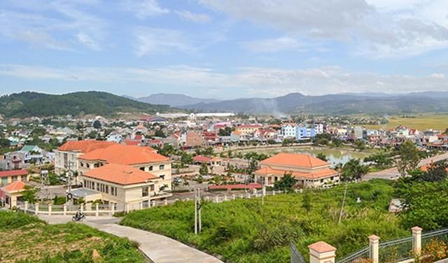 Thị trấn Đinh Văn, huyện Lâm Hà. Nguồn: Internet