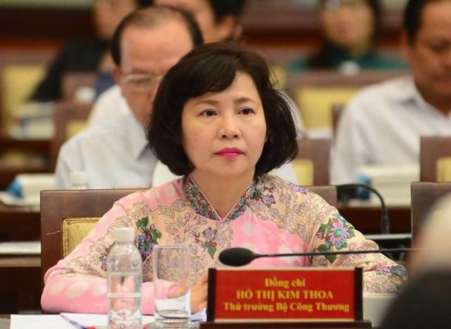 Cựu thứ trưởng Hồ Thị Kim Thoa đang bỏ trốn nên bị truy nã - Ảnh: TT
