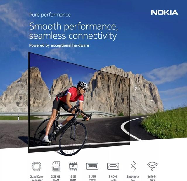 Ngoài bản quyền, Nokia còn bán thương hiệu để tích hợp trên nhiều sản phẩm do đối tác sản xuất như TV.