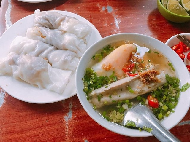 Bánh cuốn canh Cao Bằng