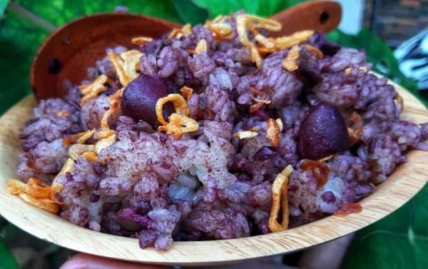 Khám phá sản vật miền Bắc Việt Nam (Kỳ 5): bánh khảo, bánh cuốn canh, xôi trám đen Cao Bằng - Ảnh 2