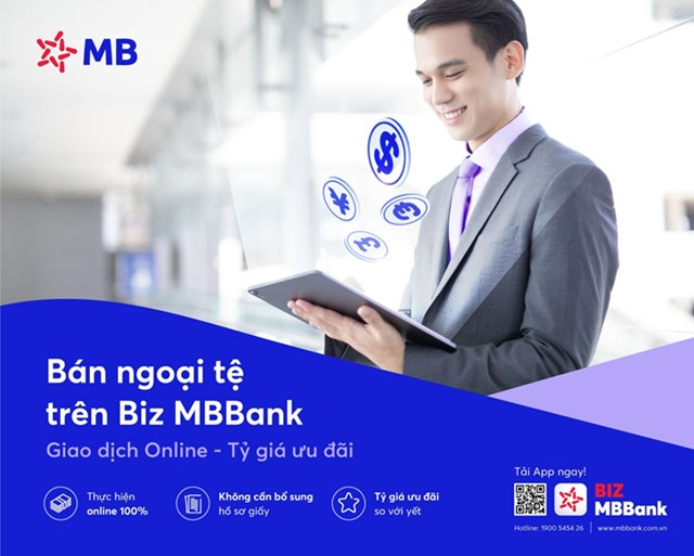 Với BIZ MBBank, doanh nghiệp có thể thực hiện giao dịch trực tuyến mọi lúc, mọi nơi.