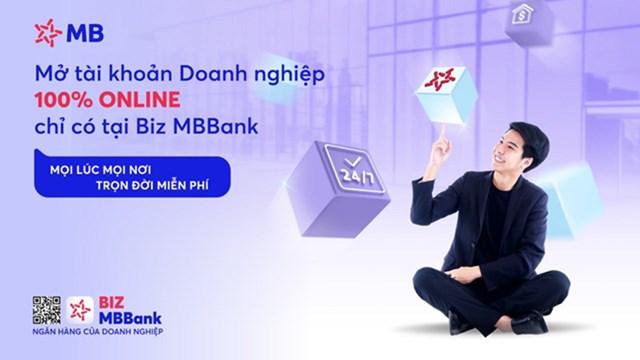 BIZ MBBank - Ngân hàng số hàng đầu dành cho Doanh nghiệp.