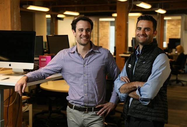 Rahal (bên phải) và Smith.