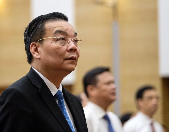 Sáng 25-9, ông Chu Ngọc Anh, phó bí thư Thành ủy Hà Nội đã được HĐND TP Hà Nội bầu giữ chức chủ tịch UBND TP nhiệm kỳ 2016-2021 sau khi ông Nguyễn Đức Chung bị bãi nhiệm - Ảnh: NAM TRẦN