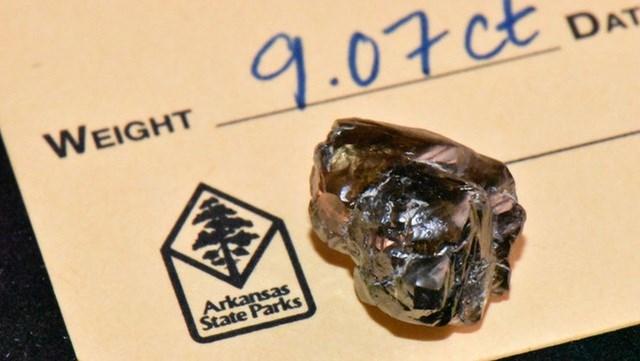Đây là viên kim cương lớn thứ 2 từng được phát hiện tại công viên kim cương này