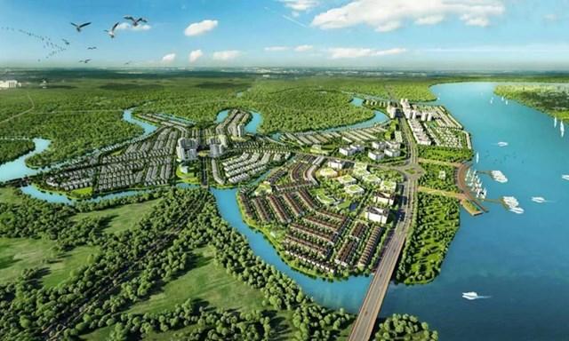 Phối cảnh dự án Aqua Riverside City. Nguồn: Novaland