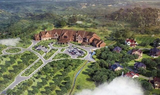 Phối cảnh dự án 25.000 tỷ của Sài Gòn Đại Ninh. Nguồn: Internet