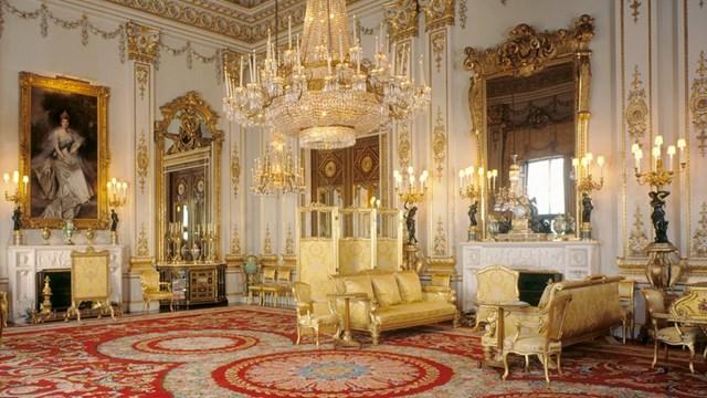Phòng Nhà nước (State Room) trong Cung điện Buckingham. (Nguồn: Rct.uk)