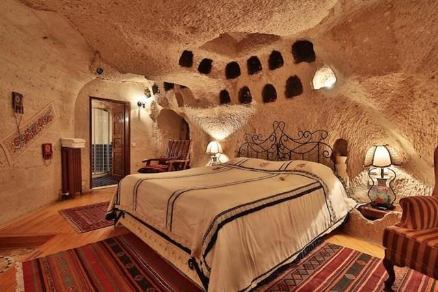 Những khách sạn trong hang vô cùng độc đáo khiến du khách thích mê - Ảnh 4