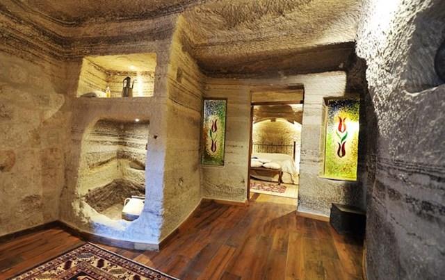 Những khách sạn trong hang vô cùng độc đáo khiến du khách thích mê - Ảnh 7
