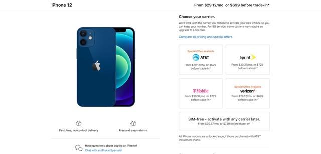 """Apple đã cho chúng ta """"ăn"""" cú lừa, giá iPhone 12 thấp nhất không phải 699 USD mà tận 729 USD - Ảnh 1"""