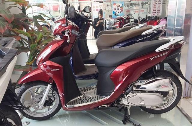 Thị phần của Honda đã lên tới 80,1% trong năm nay.