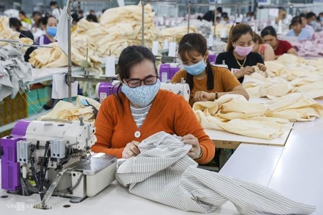 9 tháng đầu năm có hơn 3,6 triệu lao động ngành may bị ảnh hưởng bởi dịch bệnh Covid-19.